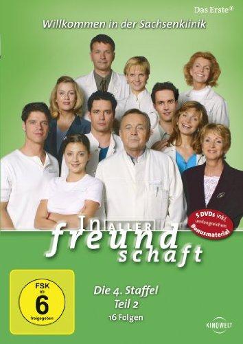 In aller Freundschaft - Die 04. Staffel, Teil 2, 16 Folgen [5 DVDs]