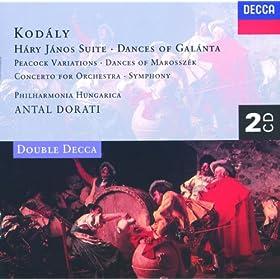 Kodaly: Gal�ntai t�ncok (Dances of Gal�nta) - 2. Allegretto moderato