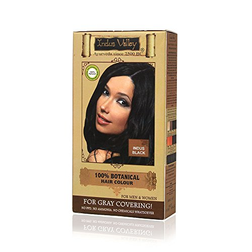 Indus Valley Indus Valley Botanical Hair Colour Indus Black One Time Use