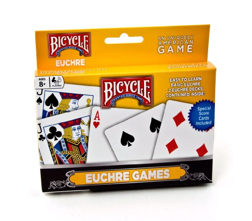 Bicycle Euchre Games Playing Cards - 1