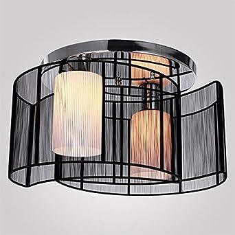 Vivreal Black Ceiling Pendant 2 Lights Lamp Lighting Chandelier Semi Flush M