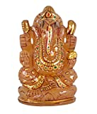 PARIJATA 1610ct Aventurine Semi Precious Stone Ganesh Idol