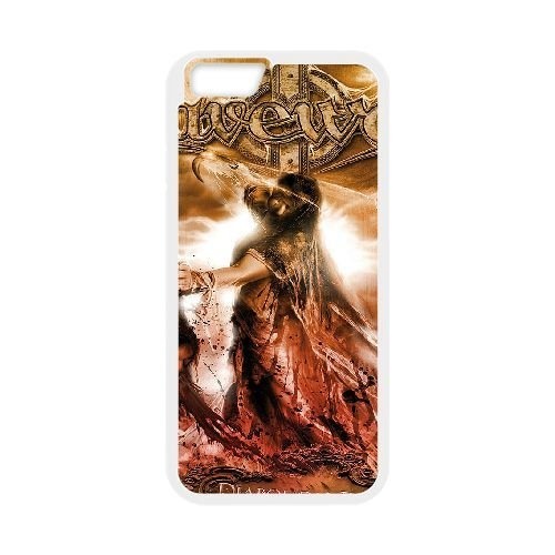 GRAVEWORM 3 cover iPhone 6 Plus 5.5 Inch Cell Phone case cover white,plastic cell phone case