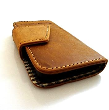 Genuine Natural Leather Handmade Case