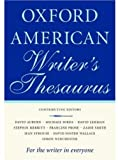 The Oxford American Writers Thesaurus