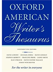 "Cover of ""The Oxford American Writer's Th..."