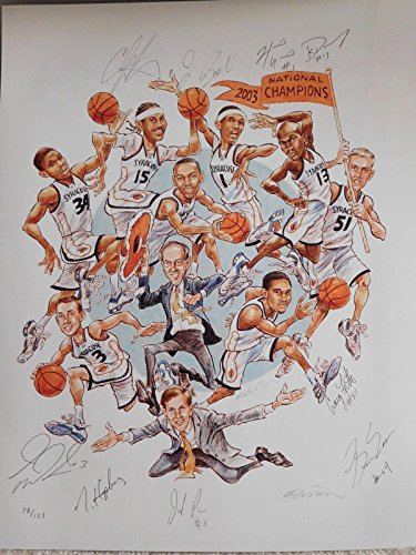 carmelo-anthony-signed-photograph-2003-print-boeheim-hakim-gmac-proof-autographed-college-photos