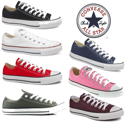 Converse CT All Star Low Trainers Canvas Mens Womens Sneakers Shoes Unisex Size 3-11