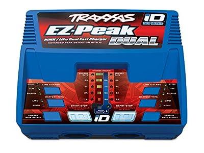 Traxxas EZ-Peak Plus, 100W, Dual charger w /iD
