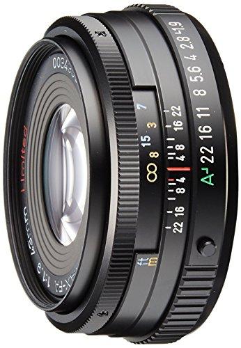PENTAX リミテッドレンズ 標準~中望遠単焦点レンズ FA43mmF1.9 Limited ブラック Kマウント フルサイズ・APS-Cサイズ 20180