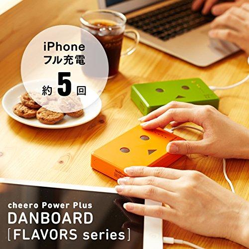 cheero Power Plus 10400mAh DANBOARD Version - FLAVORS - (strawberry) マルチデバイス対応モバイルバッテリー [iPhone 6 6plus 充電可][iPhone/iPad/Galaxy/各種スマートフォン/タブレット/ゲーム機/wifiルーター 等対応]