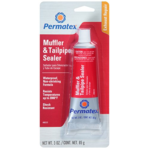 Permatex 80335 Muffler and Tailpipe Sealer, 3 oz. (Exhaust Joint Sealer compare prices)