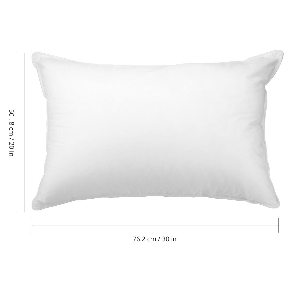 Langria Down Alternative Bed Pillows With Hypoallergenic