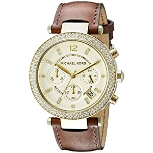 Michael Kors Women's Parker Brown Watch MK2249