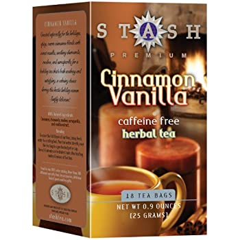 18 ct Cinnamon Vanilla Herbal Tea