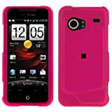 GTMax Hot Pink Rubber Hard Snap On Crystal Cover Case for Verizon HTC Droid ....