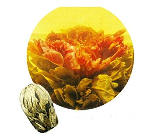 Be Oneself Fresh Flavor Natural Craft Flower Tea Blooming Jasmine Flower Tea Herb Ball A Blaze Of Colour Set Of 10 80G Unique Healthy Tea