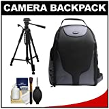 Bower Pro DSLR Backpack with Tripod and Cleaning Kit