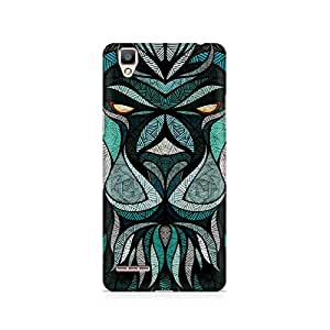 Ebby Lion Mighty Premium Printed Case For Oppo F1