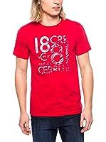 Cerruti Camiseta Manga Corta CMM8022350 C0842 (Rojo)