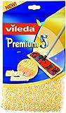 Vileda 140783 Premium 5 Micro Sensitiv Wischbezug - passend für Premium 5 Bodenwischer - ideal für empfindliche Böden wie Parkett und Laminat