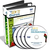HTML 5 and Adobe Dreamweaver CS4 Tutorial Training on 4 DVDs, 31 Hours in 272 Video Lessons, Computer Software Video Tutorials