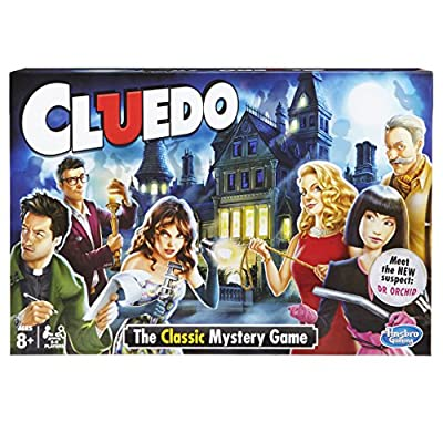 Hasbro 387123480 Cluedo the Classic Mystery Board Game