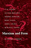 Marxism and Form: Twentieth-Century Dialectical Theories of Literature (069101311X) by Jameson, Fredric