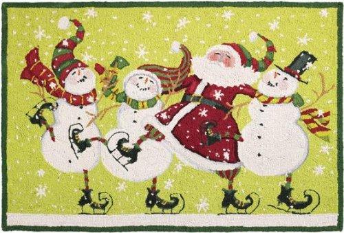 Dancing Santa Area Rug, 27