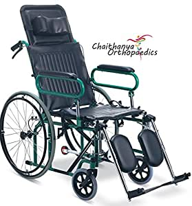 Chaithanya Orthopaedics FC Premium Imported Wheel Chair Reclining