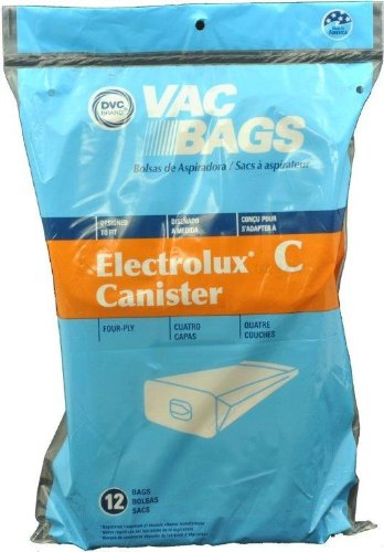 Electrolux Canister Paper Bags, 12 Pack
