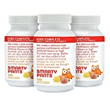 SmartyPants Vitamins Gummy Vitamins with Omega 3 Fish Oil and Vitamin D, Pack of 3 (120 Count Each) (wcjyp37)