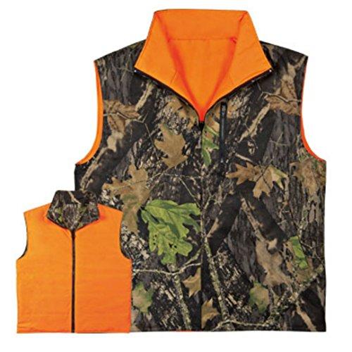 Reversible Water Resistant Huntergreen Treeroot Wood Camo Vest