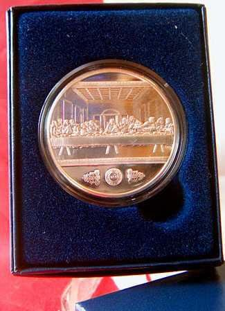 The Last Supper before The Passion of Christ : Commemorative Coin