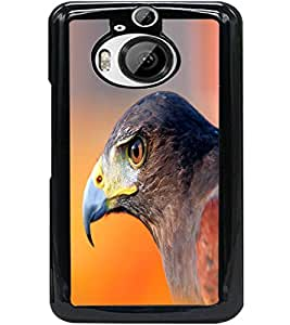 ColourCraft Eagle Look Design Back Case Cover for HTC ONE M9 PLUS