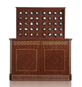 Bergamo 40 Watch Winder Rosewood Cabinet, Programmable Movement by Orbita