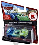 Disney / Pixar CARS 2 Movie Exclusive 155 Die Cast Car with Synthetic Rubber Tires Carla Veloso