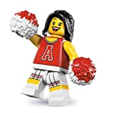LEGO® Red Cheerleader 8833 Series 8 Minifigures