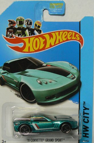Hot Wheels HW City 24/250 '11 Corvette Grand Sport