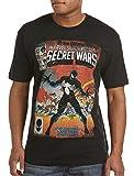 Marvel Secret Wars 8 Cover Big & Tall Short Sleeve Screen T-Shirt