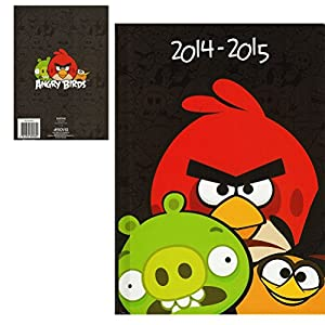 Agenda Angry Birds Annee scolaire 2014-2015