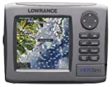 Lowrance HDS-5m 5-Inch Waterproof Marine GPS and Chartplotter (With Nautic Insight Maps)