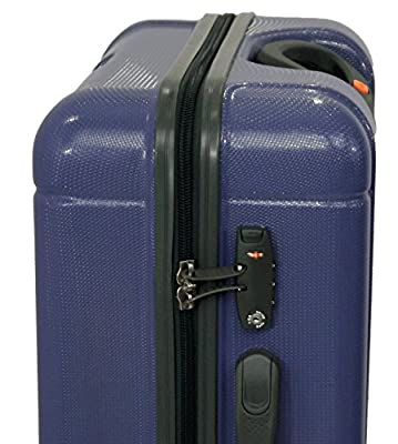 Lightweight Jeep Canyon Hard Shell ABS PC 4 Wheel Spinner Trolley case