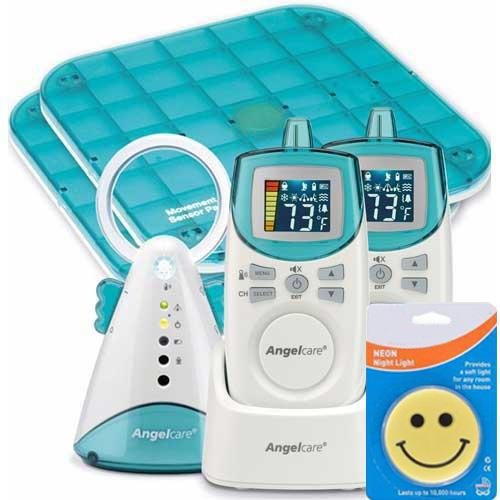 Angelcare Ac401Dpm Deluxe Plus New Model Movement Sound Monitor With Sound Monitor And A Night Light front-516801