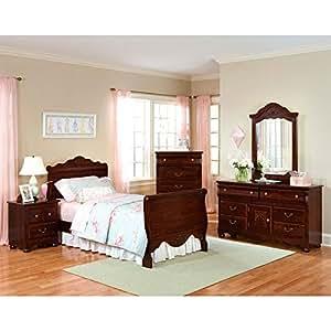 amazon com jaqueline sleigh bedroom set twin bedroom cheap bedroom furniture sets amazon amazon your zone