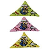 ✏ Purrr!-Muda Triangle Speciality Pack: Contains Yeowww! 100% Organic Catnip Purrr!-Muda Triangles (1 each pink, green, yellow) ✏