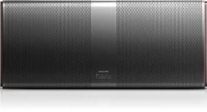 Philips Fidelio P9XBLK/10 Enceinte portable Bluetooth APT-X/NFC avec connecteur USB/batterie Noir