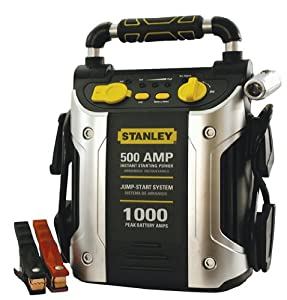stanley 500 amp jump starter with compressor manual