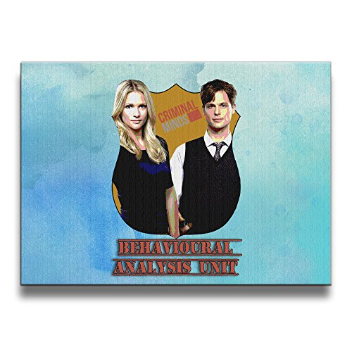 Bekey Criminal Minds Couple Art Photo For Home Office Decorations Wall Decor For Living Room&bedroom (House Of Cards Season 2 Cast compare prices)
