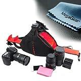 MegaGear DSLR Camera Case Bag for Canon EOS 70D, 60D, 6D, T6i, T6s, T4i T5i, 7D 5D MK Series Nikon D610 D7100, D7200, D5500, D5300, D3200, D3300, D810